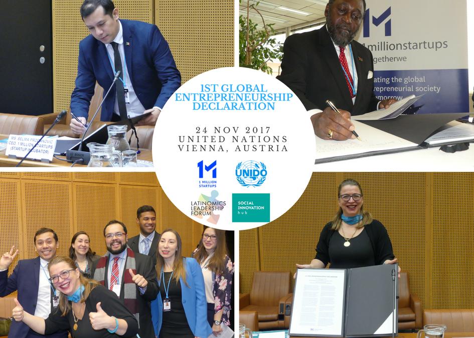 Se firma en la ONU la 1era Declaración Global de Emprendimiento