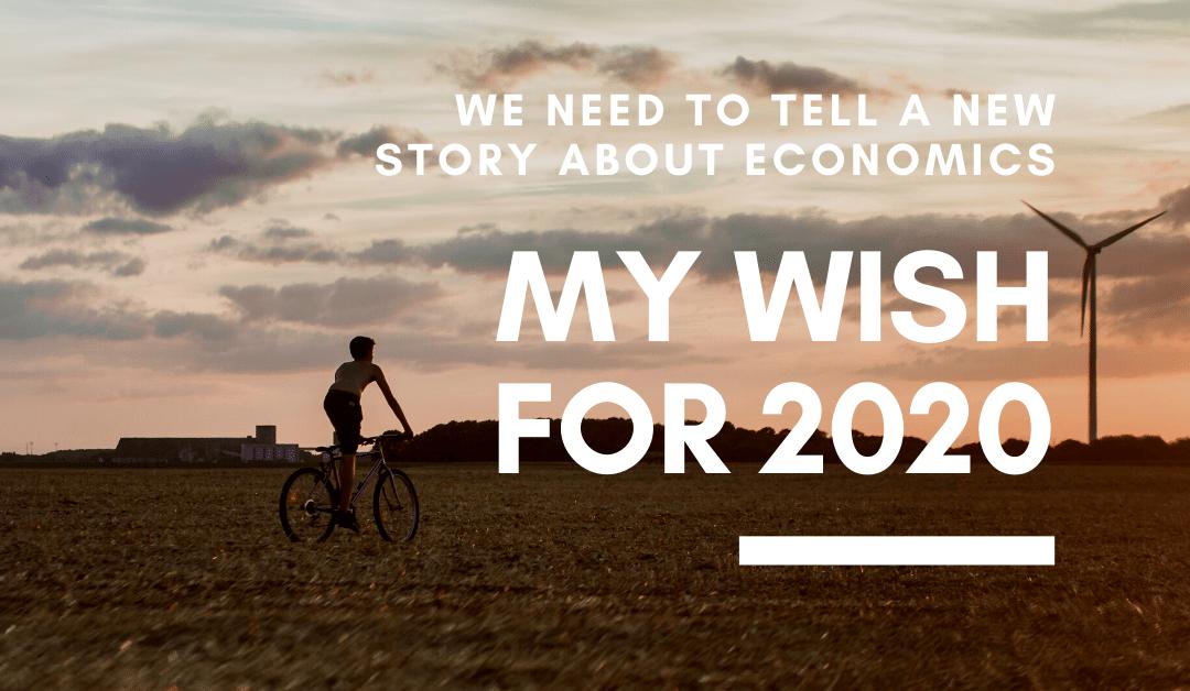 We need a new story about economics: Doughnut Economics