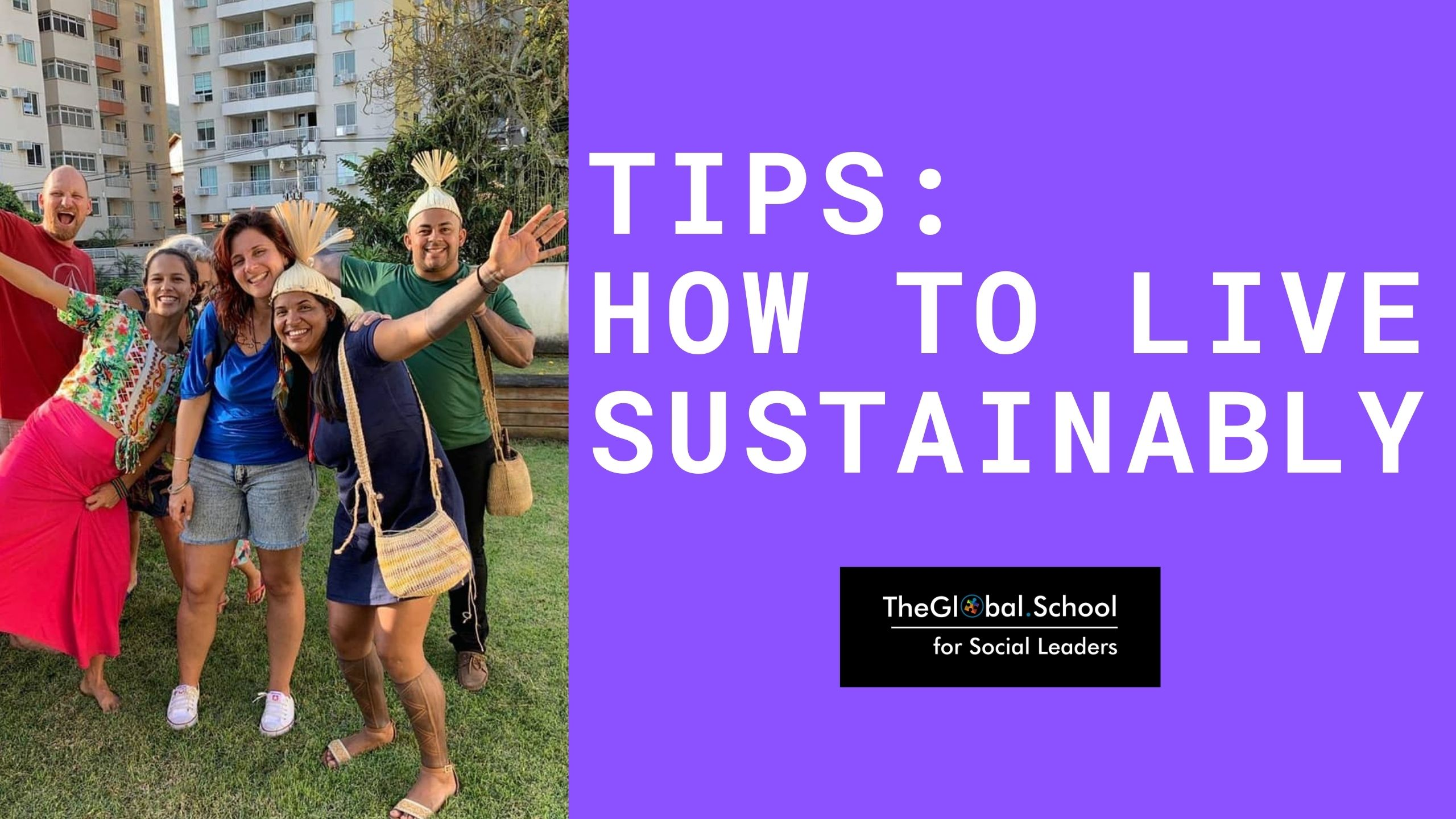 Tips: how to live sustainably