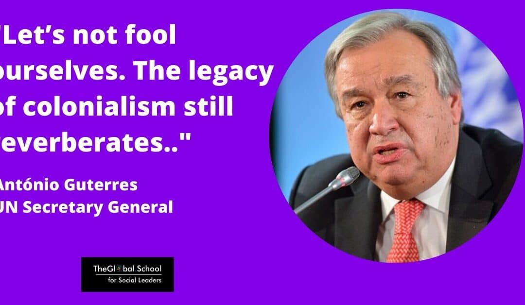 """Let's not fool ourselves"", UN Secretary General Antonio Guterres slams inequality falsehoods"