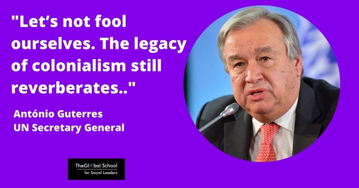 Antonio Guterres - Inequality