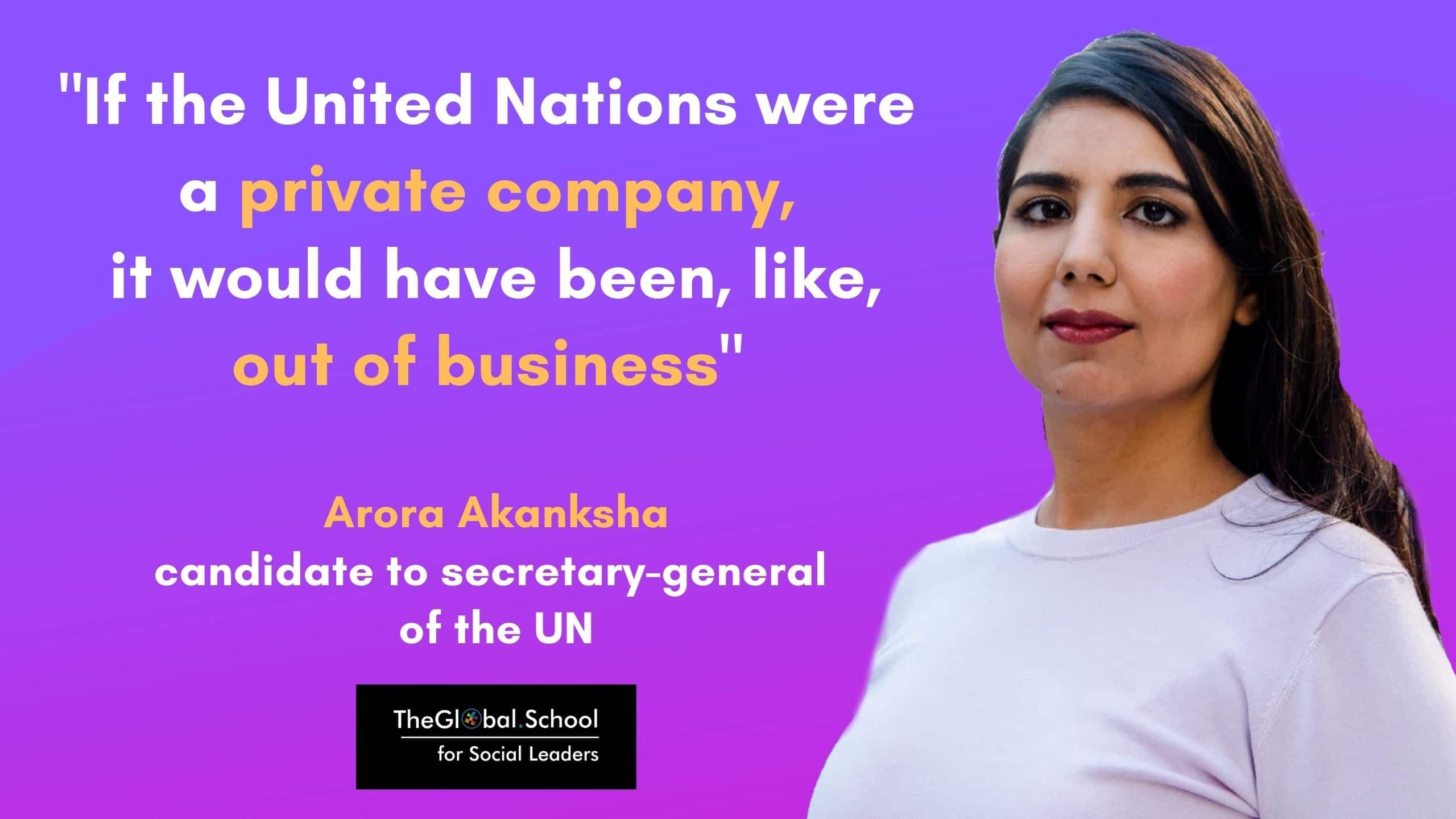 Who is Arora Akanksha?